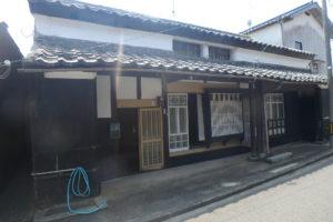 岐志浜の漁村の古民家