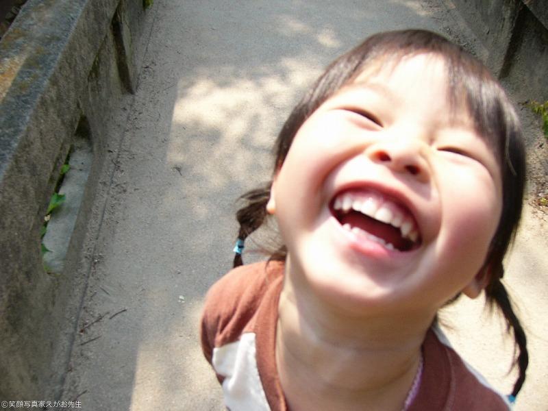 笑顔写真家かとうさんのこどもの写真