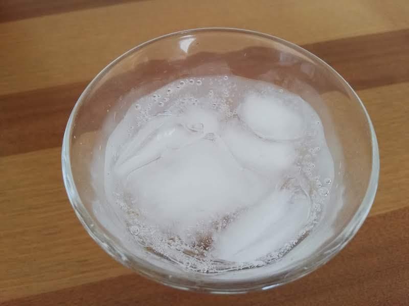 ソーダストリームでつくった炭酸水