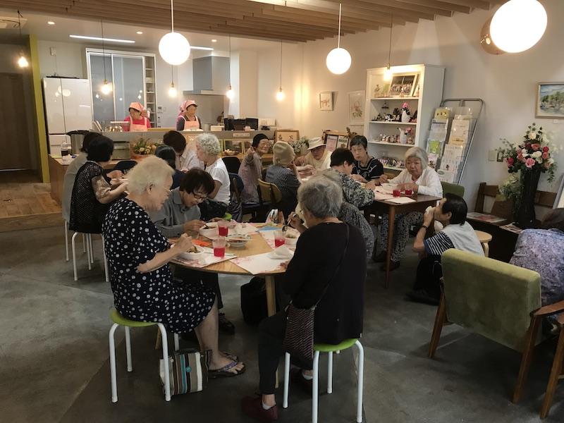 四箇田校区の食振会と一緒に取り組むおとな食堂