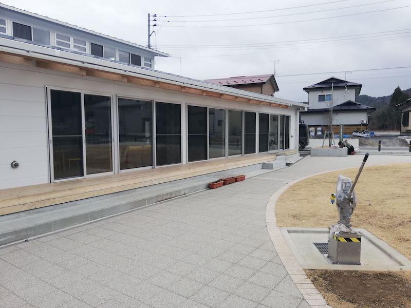 大槌町の吉里吉里公民館
