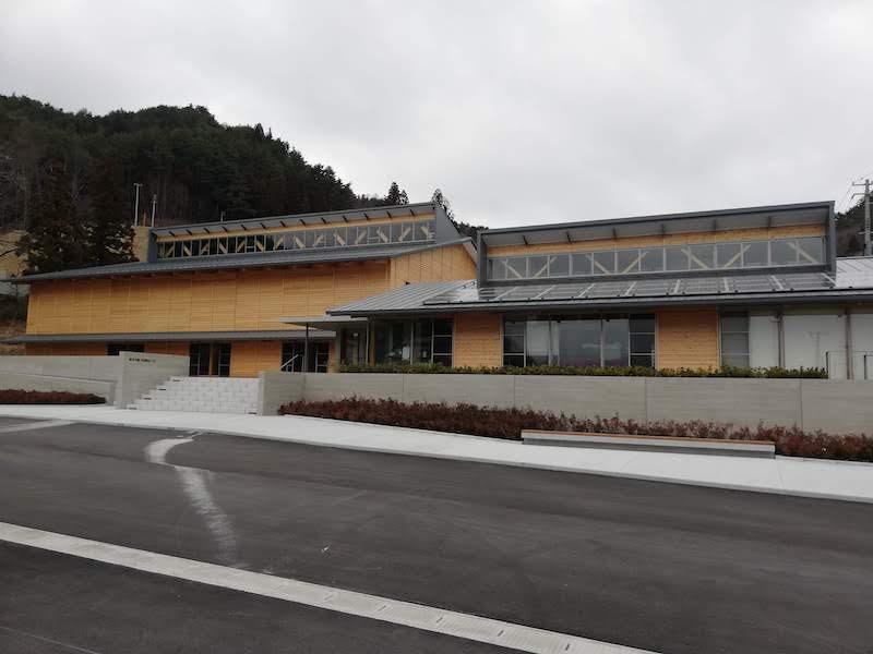 大槌町の赤浜公民館の外観