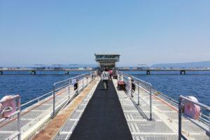 福岡市海釣り公園の第一釣台桟橋