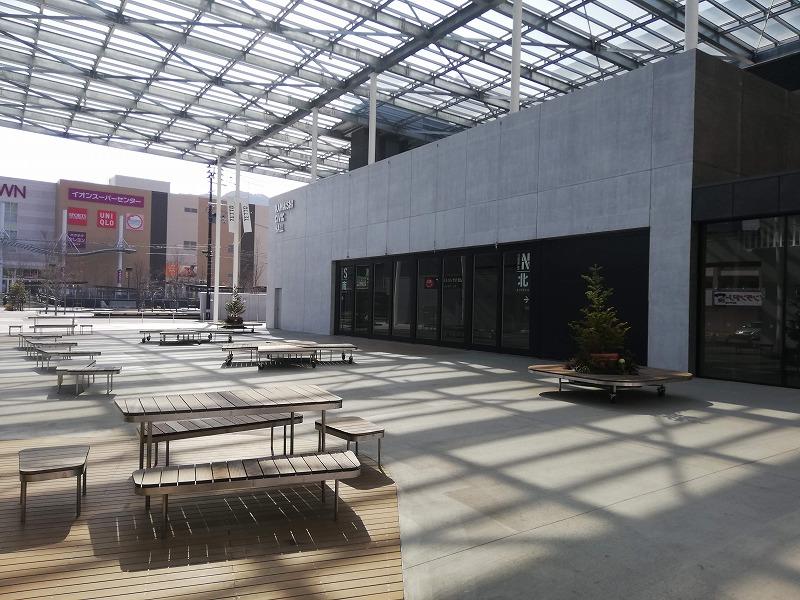 釜石市民ホールTETTOの大屋根