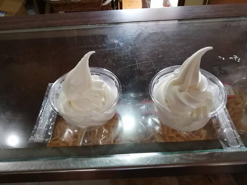 伊都物語のソフトクリーム