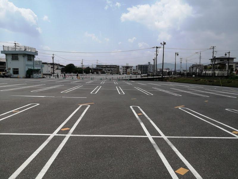 太宰府天満宮の駐車場